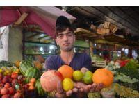 Iğdır'da kışlık sebze ve meyve satışları başladı