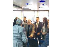 Başbakan Yıldırım, Yalova'dan feribotla ayrıldı