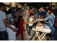 Vatandaşlar kurulan stantlarla şenliğe davet ediliyor