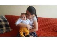 Beş aylık Mustafa bebek için ilik bekleniyor