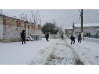 Ardahan'da kar yolları kapattı