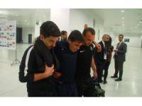Josue gözyaşları içinde stadyumdan ayırıldı