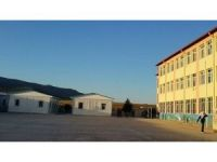 İlk Konteyner okul Nurdağı'nda Eğitme Başlıyor