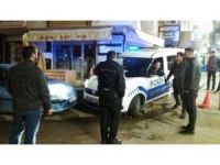 Polis ekiplerinin yardımına vatandaşlar yetişti