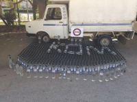 Mersin'de sahte içki imalathanesi ortaya çıkarıldı