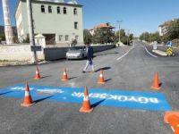 Büyükşehir'den Yeşilyayla'ya sıcak asfalt