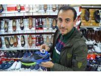 Malatyalı genç klimalı ayakkabı tasarladı