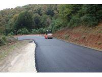 Güzlek Mahallesi 7 bin ton sıcak asfalt ile yeni yüzüne kavuştu