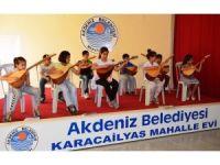 Akdeniz'de mahalle evlerinde eğitimler devam ediyor