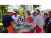 Yöresel ürünler ve hediyelik eşya festivali yapıldı
