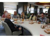 Başkan Bozbey çalışanlarla öğle yemeğinde buluştu