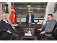 Eskişehir Anadolu Kültür ve Dayanışma Derneği'nden AK Parti Tepebaşı İlçe Teşkilatına hayırlı olsun ziyareti