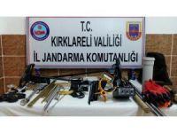 Kaçak kazıya suçüstü: 5 gözaltı