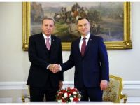 Cumhurbaşkanı Erdoğan, Polonyalı mevkidaşı Duda ile görüştü