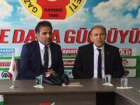 AK Parti Kocasinan İlçe Yönetimi Kayseri Gazeteciler Cemiyetini Ziyaret Etti