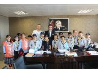 Öğrenciler, Germencik Belediyesi'ni ziyaret etti