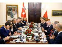 Cumhurbaşkanı Erdoğan, Polonya'da heyetlerarası görüşmeye katıldı