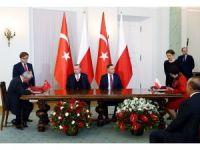 Polonya ve Türkiye arasında 5 anlaşma imzalandı