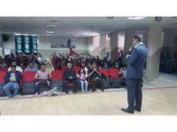 Gazi Ortaokulunda Aile Birliği Kurul toplantısı yapıldı