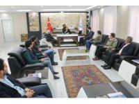 AK Parti Yahyalı teşkilatından Belediyeye ziyaret