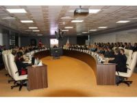 Adıyaman'da 2017 yılının son koordinasyon toplantısı yapıldı