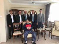 Ak Partili belediye başkanlarından Bilecik Belediye Başkan Yardımcısı Nihat Can'a geçmiş olsun ziyareti