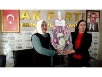 AK Parti Kadın Kolları Başkanlığında devir teslim