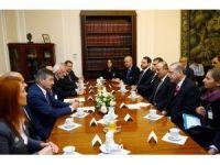 Cumhurbaşkanı Erdoğan Kuchcinski ile görüştü