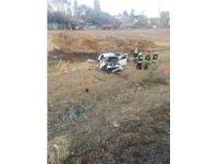 Görev yerine dönen uzman çavuş kaza yaptı: 1 ölü 2 yaralı