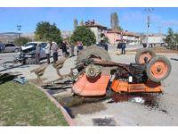 Tunçbilek'te trafik kazası: 1 yaralı