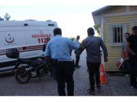 Madde bağımlısı olduğu iddia edilen şahıs hastaneye kaldırıldı