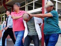 Muğla'da yakalanan son PKK'lı terörist sağlık kontrolünden geçirildi