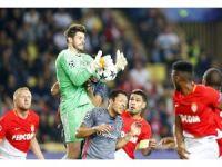 UEFA Şampiyonlar Ligi: Monaco: 1 - Beşiktaş: 1 (İlk yarı)