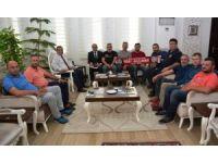 Antalyaspor taraftar gruplarından Uzunkaya'ya ziyaret