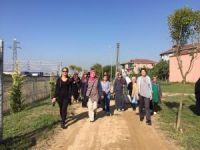 Dünya Yürüyüş Gününde Kartepeli kadınlar bir araya geldi