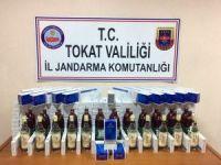 Tokat'ta kaçakçılık operasyonu