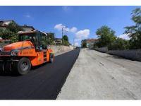 Serdivan'da 110 farklı noktaya sıcak asfalt