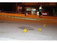 Karabük'te pompalı tüfekle saldırı anı güvenlik kamerasında