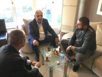 Milletvekili Metiner, iş adamları ziyaretlerine devam ediyor