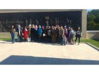 Bulanıklı kadınlar, İstanbul ve Çanakkale'yi gezdiler