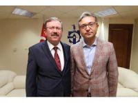 Genel Sekreter Bayram ve Başkan Köken turizm için bir araya geldi