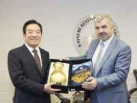 Zehnzhou'dan Kayseri'ye iyi niyet ziyareti