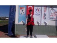 Manisa Büyükşehirli sporcu atıcılıkta ikinci oldu