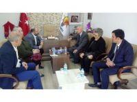 15 Temmuz Şehidi Eker'in ailesinden AK Parti'ye ziyaret