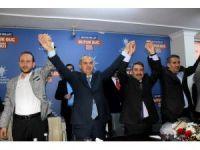 AK Parti İl Başkanı Erdoğan'a görkemli karşılama