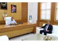 Başkan Toçoğlu, Şeker Fabrikası Genel Müdürü'nü ağırladı