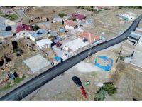 Talas'ta kırsal mahallelere asfalt atağı