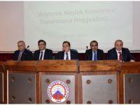 Meslek komiteleri toplantısında sorunlar konuşuldu