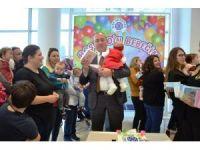 Biga'da hoşgeldin bebeğim partisi
