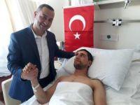 Adıyamanlı yaralı askerin tedavisi devam ediyor